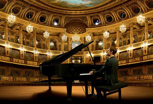 Alexandre Tharaud : un piano à Versailles !
