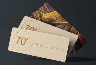 chèque-cadeau 70 euros