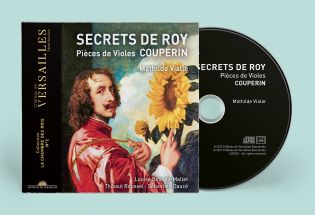 cd - couperin - secrets de roy - pièces de violes