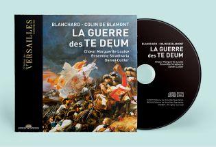 cd - blanchard / colin de blamont - la guerre des te deum
