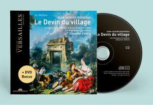 cd+dvd bonus - rousseau - le devin du village