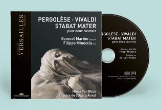 n°33   cd - pergolèse - vivaldi   stabat mater pour deux castrats
