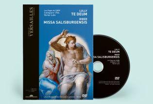 n°12 | dvd - lully - te deum / biber - missa salisburgensis