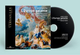 double cd - campra - l'europe galante