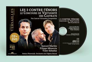 cd + dvd - les 3 contre-ténors - vente avant-premiere exclusive