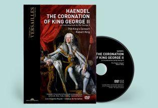 dvd - haendel - le couronnement du roi george ii