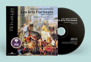 cd - charpentier - les arts florissans
