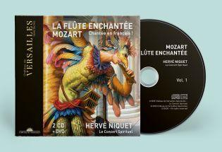 n°30 | cd + dvd - la flûte enchantée - pré-ventes