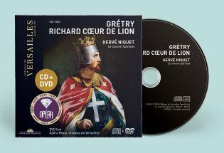 n°28 | cd + dvd - grétry - richard cœur de lion